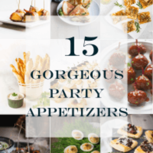 15 gorgeous party appetizers featured image