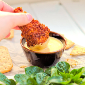 Crispy fried Cheddar Chicken