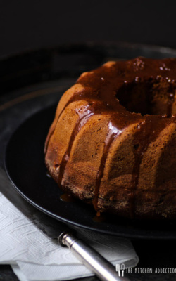 Guinness porter cake