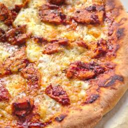 Peri peri chicken pizza - peri peri pizza
