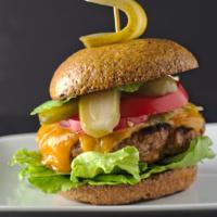 Low carb hamburger buns – gluten free recipe