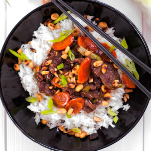 spicy beef stir fry